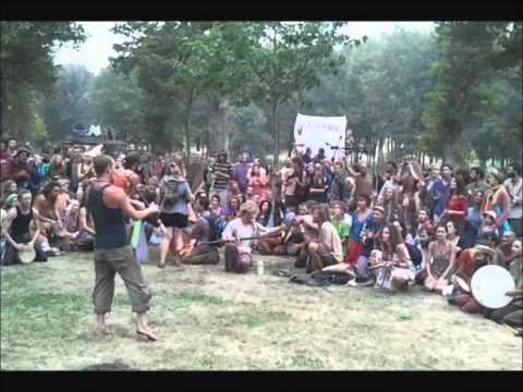 Hippie Rainbow Salto 2011 Part 2/3