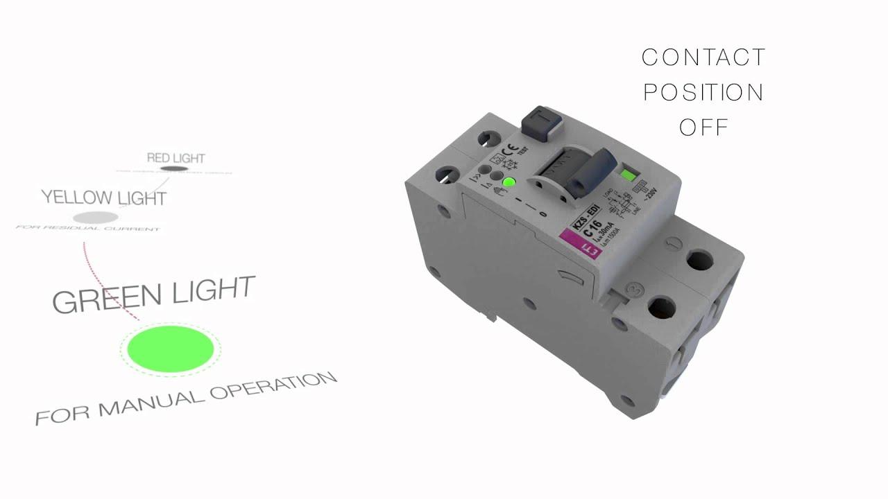 Видео: Комбиниран автоматичен прекъсвач с ДТЗ и LED индикация