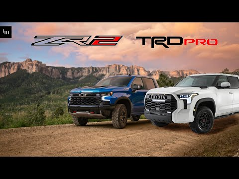 The 2022 Chevy Silverado ZR2 Is More TRD Pro Than Raptor Or TRX