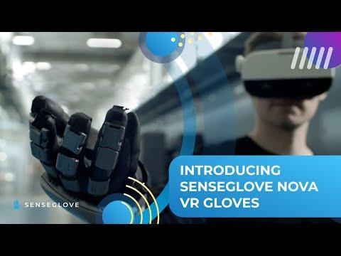 VR手套SenseGlove能感受紋路及硬度 要價近14萬荷蘭陸軍也用過
