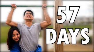 This Skinny Guy Trains 57 Days to Pull Up His Wife