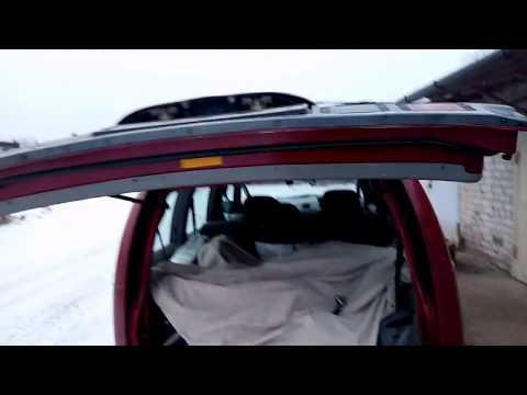 Восстановление заднего упора двери багажника
