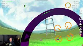 FPV Drone Sim Racing Practice - MaiOnHigh Ladder Couse