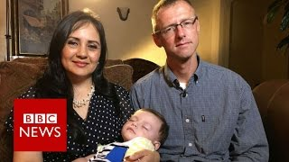 Baby accidentally given to wrong couple reunited with real parents - BBC News