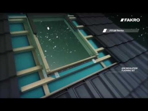 dachfenster fakro ftt u8 thermo mit 4 fach verglasung. Black Bedroom Furniture Sets. Home Design Ideas