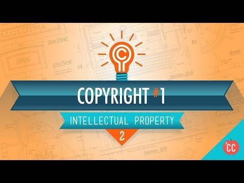 Copyright Basics: Crash Course Intellectual Property 2 - YouTube