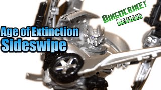 Transformers - Movie Advanced Sideswipe Figure Review - Age of Extinction