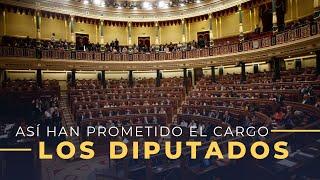 Abascal, Ortega Smith, Echenique, Junqueras... Así han acatado los políticos la Constitución