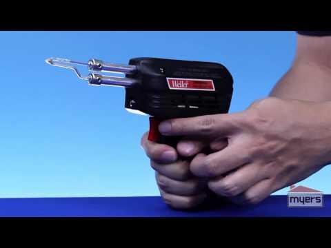 Cautin Profesional Tipo Pistola con diferentes puntas