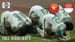 Vietnam (2) vs Indonesia (4) - Full Highlight  AFF U-16 Championship 2018
