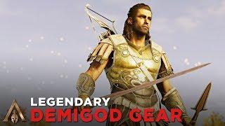 Legendary Demigod Gear + Sword of Damokles (DEIMOS SET) - Assassin's Creed Odyssey