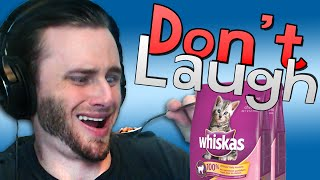 Try Not to Laugh Challenge | Cat Food Eating?