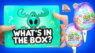 КОРОБКА С СЮРПРИЗАМИ! #Surprise Mystery Box ПИКМИ ПОПС + КОНКУРС Pikmi Pops Surprises #toys for kids