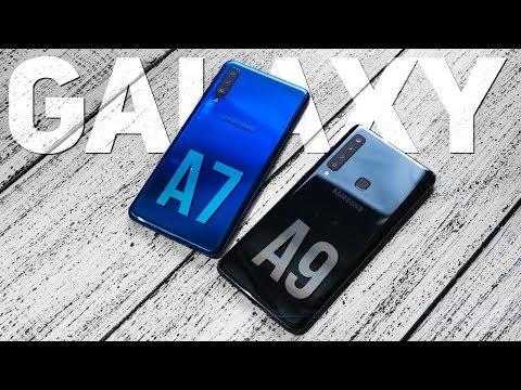 Samsung Galaxy A9 и Galaxy A7 2018: какой смартфон выбрать? Обзор и Сравнение