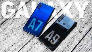 Samsung Galaxy A9 и Galaxy A7 2018: Обзор и Сравнение. Какой смартфон выбрать?