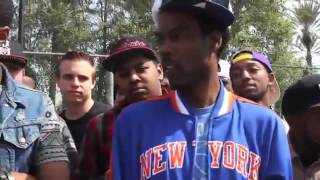 Epic rap battle Chris Rock VS. Supahot Fire!