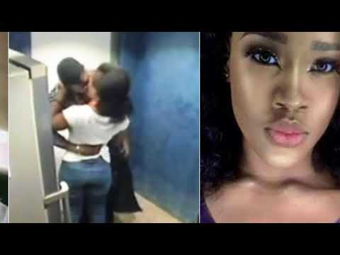 #BBNaija 2018: Tobi caught on camera kissing Cee-C after eviction drama