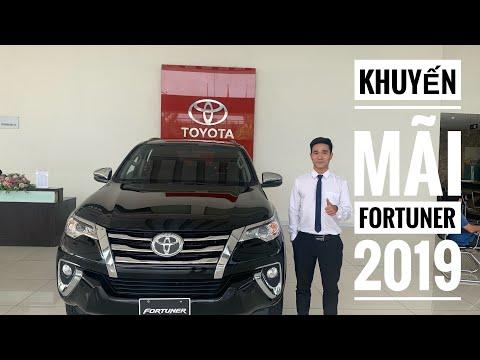 Cập nhật khuyến mãi Toyota Fortuner 2019| có thời điểm giảm đến 80 triệu