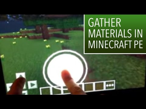 Minecraft PE: 1: How to gather the materials to build a house