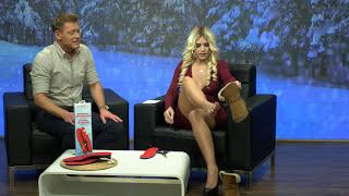 Nie mehr kalte Füße! 😍Katie Steiner zeigt beheizbare Akku-Schuheinlagen bei PEARL TV