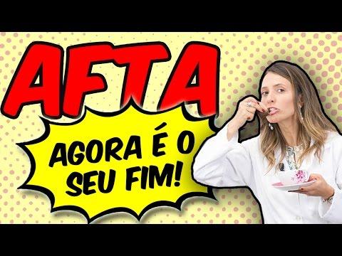 Imagem ilustrativa do vídeo: Como eliminar AFTA rapidamente