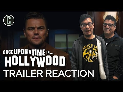 Once Upon A Time In Hollywood Trailer Reaction