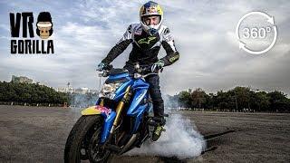 Aras Gibieža - Red Bull Motorcycle Freestyle Stuntrider (360 VR Video)