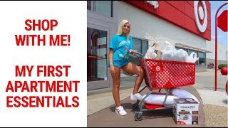 FIRST APARTMENT ESSENTIALS | COLLEGE STUDENT | BACK TO SCHOOL