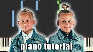 Eino Ja Aapeli   MÄ VOISIN OLLA SE | Piano Tutorial