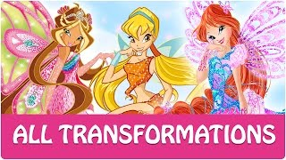 Gambar cover Winx Club - All Winx Full Transformations!