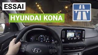 Essai Hyundai Kona 64 kWh : Marseille – Paris