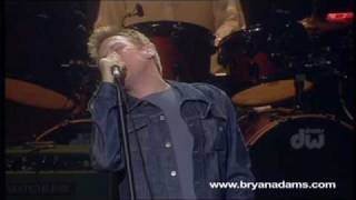 Bryan Adams and The Who - Behind Blue Eyes