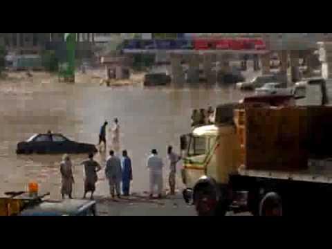 امطار جدة يوم الأربعاء 08-12 طريق مكة القديم كيلو 10