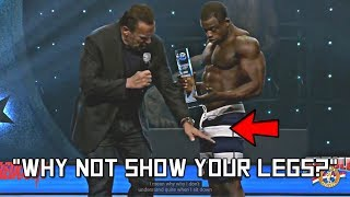 Arnold Asks Mens Physique Winner  Why Not Show Your Legs?