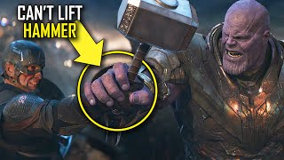 INSANE DETAILS In AVENGERS ENDGAME You Only Notice After Binge Watching The MCU | Easter Eggs