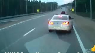 Неадекватные водители, быдло за рулём 2018 год