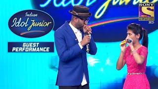 "Benny और Nityashree के बीच हुआ ""Kazoo Challenge""   Indian Idol Junior   Guest Performance"