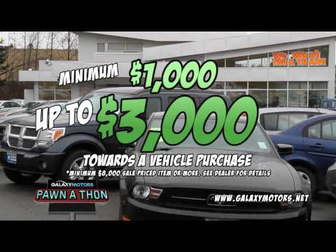 Galaxy Motors Pawn-A-Thon 2014 Commercial B