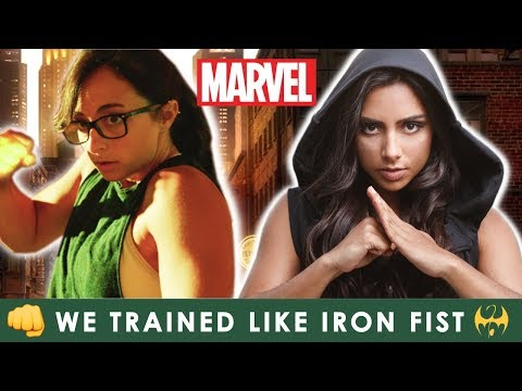 We Trained Kung Fu Like Iron Fist For A Month (Marvel's Defenders) ??