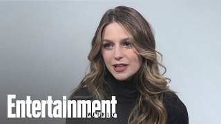 Melissa Benoist Explains How Supergirl Would Defeat Batman   Entertainment Weekly