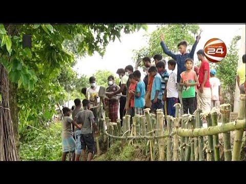 কুষ্টিয়ায় স্বেচ্ছাশ্রমে ভাঙা সড়ক মেরামত করলেন শিক্ষার্থীরা