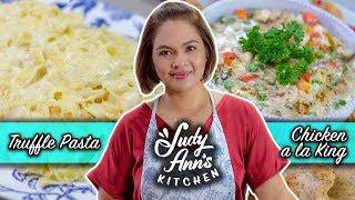[Judy Ann's Kitchen 17] Ep 3: Truffle Pasta, Chicken A la King, Cheeseboard