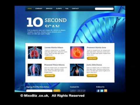 HealthcareMedical  related web design samples ( MixoBiz )