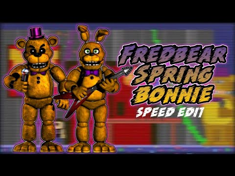 FNAF | Speed Edit] - Making Fixed Spring Bonnie (v 2