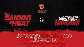 ABL9    Home - Game 13: Saigon Heat vs Westports Malaysia Dragons 20/01   Full Game Replay