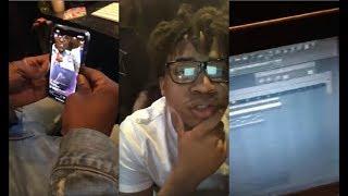"Turbo Playin Beats In The Studio [Plays ""Gunna   Big Shot""]"