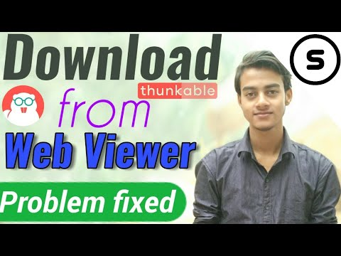 How to download from Thunkable Web Viewer | Thunkable tutorial in