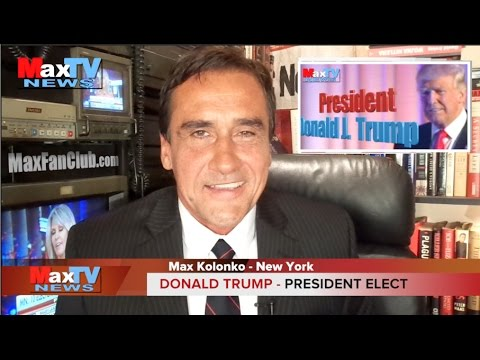 President Elect Donald J. Trump - Max Kolonko MaxTV Mówię Jak Jest