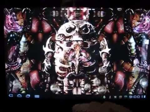Video of Biomechanical Droid Free