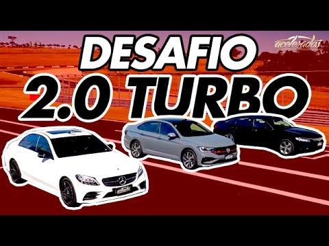 Mais rápido que o GTI? Jetta GLI encara Mercedes C300 e Honda Accord na Volta Rápida c/ Rubinho #175
